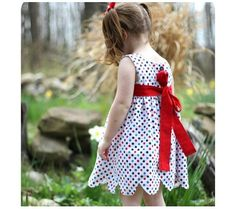 25 Darling DIY Summer Dress Patterns & Tutorials For Your Baby Girl! | Disney Baby