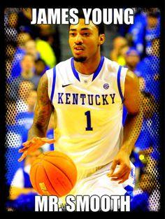 Kentucky Wildcats James Young