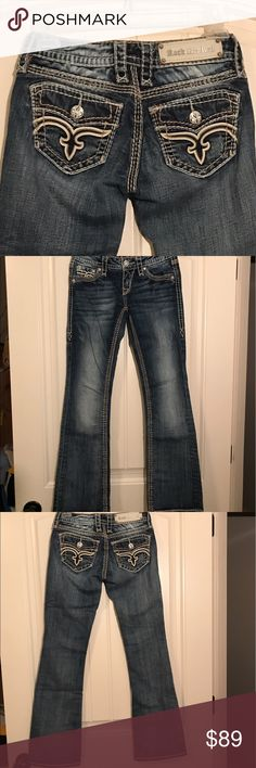 NWOT Rock Revival Jamila Never worn. Low rise zip fly. Slim through hip and thigh. Boot cut. Rock Revival Jeans Boot Cut