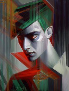 Digital cuded art