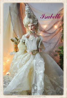 Isabelle BJD doll by Sutherland (rococo) by SutherlandArt.deviantart.com