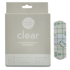 Clear - Everyday Good Co Biodegradable Bandages | Bandaids