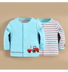 Jual Mom and Bab 2 Side Jacket - Red Tractor - Baju bayi anak branded import Mom and Bab 2 Side Jacket - Red Tractor
