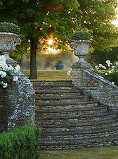 beautiful, stone steps