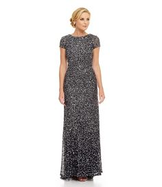 Sparkling dress perfect for the mother of the bride or mother of the groom, elegant and classy!  Absolutely perfect!