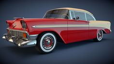 1956 Chevrolet Bel Air Coupe by SamCurry