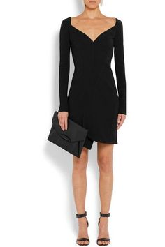Givenchy Woman Stretch-cady Mini Dress Neutral Size 40 Givenchy Cheap Price Factory Outlet Cheap Official New Lower Prices b0v28GTAKY