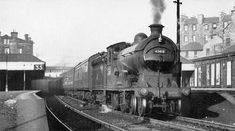 62418 Class D30 4-4-0 Haymarket Station - 1956