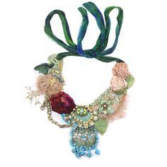Branche De Saumon floral crown headband   eliurpi