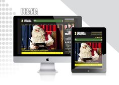 Websites Design / URBANIA on Behance