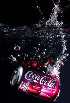 product photography droplets Coca Cola can submerged in water Splash Photography, Rose Photography, Still Life Photography, Product Photography, Photography Ideas, Creative Photography, Cocktail Photography, Coca Cola Can, Coca Cola Bottles