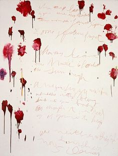 cy twombly (assassinating writing)