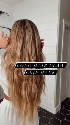 Hairdo For Long Hair, Long Hair Tips, Long Hair Video, Easy Hairstyles For Long Hair, Long Long Hair, Hair Tips Video, Very Long Hair, Curly Hair Styles, Thick Long Hair Styles