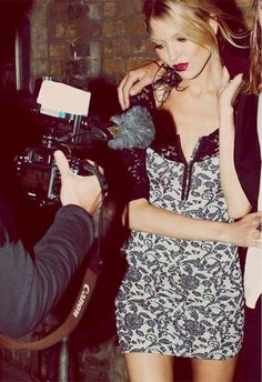 Watch where you're pointing that . Kate Moss