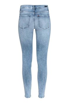 Shaping Skinny Ankle Jeans - Vaalea deniminsininen - Ladies | H&M FI