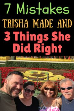 Trisha recently learned a lot on her Walt Disney World trip. Here is her story: This trip was an adult only trip, with 4 people. This makes a difference as we did not have to schedule in naps/slower time for children. Two adults flew in from Ohio, and two of us are Florida residents. We …