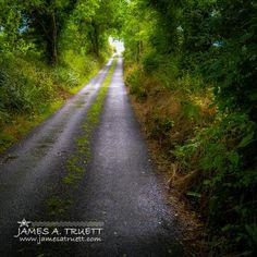 www.jamesatruett.com - Irish Country Road in Summer in County Clare, #Ireland.