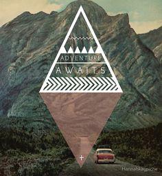 """Adventure Awaits"" by Hannahkaypiche | Redbubble"