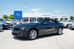 Preowned special @ Jerry's GM in Weatherford, TX. 2013 Chevrolet Camaro 1LT for only $25,986! Stock#:D9113045
