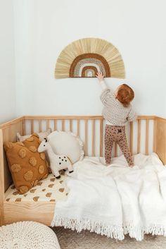Pin on Детская комната Rayung Rainbow Wall Hanging — Kiin Baby Baby Bedroom, Baby Boy Rooms, Baby Room Decor, Baby Cribs, Girls Bedroom, Boho Nursery, Nursery Neutral, Nursery Room, Natural Nursery