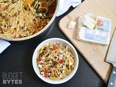 Een gezonde maaltijd voor weinig geld in slechts één pan? Probeer dit Wonderpan pasta recept! - Zelfmaak ideetjes