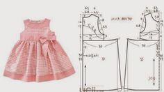 ENFANT ROBE 3 à 4 ans avec MESURES - 1 | Cuts et couture