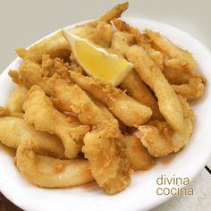 En esta receta de chocos fritos te damos algunos trucos para que siempre queden crujientes y tiernos. Este es unos de los platos de pescaíto frito que más nos gustan.