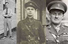 Famous Canadian Soldiers of WW1.   John Diefenbaker, Lester Pearson, Frederick Banting, Grey Owl, Greg Clark, Raymond Massey,  AY Jackson, Conn Smythe and others
