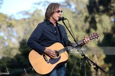 Singer Jackson Browne performs onstage during Hardly Strictly Bluegrass at Golden Gate Park on October 1 2016 in San Francisco California Jackson Browne, Golden Gate Park, Music Instruments, Singer, California, Concert, October 1, San Francisco, Awesome