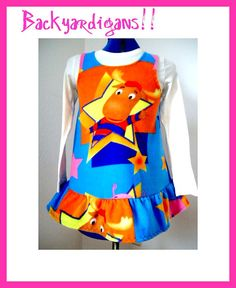 Custom girls boutique the Backyardigans by BlossomBlueBoutique, $29.99