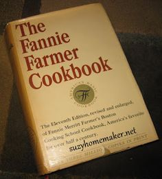 Why I like old-fashioned cookbooks