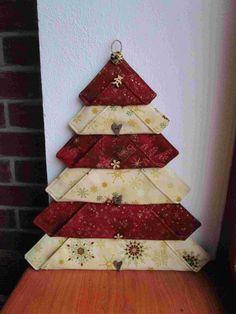 Vánoční stromeček :: Patchwork Dita Handmade, Scrappy Quilts, Hand Made, Craft, Handarbeit