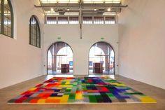 Color Field Floor Installation by American artist Liza Lou