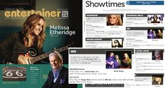 Wow! I made the actual Showtimes listings on page 4!!!!