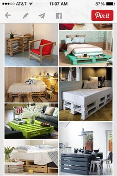Pallet furniture Re-pin, no source