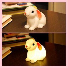 Lampada LED a coniglietto e maialino (per la cameretta!) - Bella Mamma - vendita on line prodotti per bambini, giochi, accessori, negozio co...
