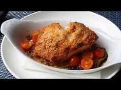 Sea Bass San Sebastian - Spanish-Inspired Garlic, Pepper & Almond Crusted Sea Bass Recipe - YouTube