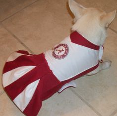 Roll Tide, Alabama Cheerleader Outfit on Etsy, $25.00
