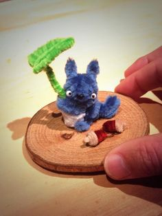 Pipe cleaner totoro,My Neighbor Totoro is a 1988 Japanese animated fantasy film written and directed by Hayao Miyazaki and produced by Studio Ghibli.