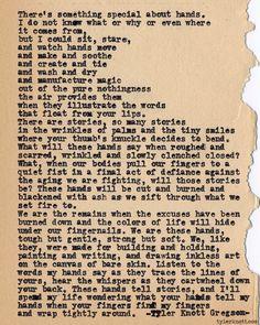Typewriter Series #436by Tyler Knott Gregson