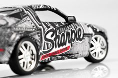 Sharpie Mustang Car Wrap on Behance