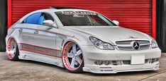 BENZTUNING: Mercedes-Benz CLS550 Stance on Forgiato Wheels