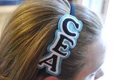 Custom School / Cheer / Sports ELASTIC Headband on Etsy, $10.00 School Uniform Accessories, Hair Accessories, Cheer Mom, Cheer Stuff, School Spirit Days, Cheer Dance, Spirit Wear, Sports Mom, Color Guard
