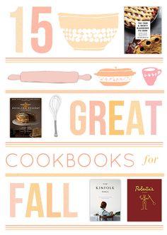 15 Great Cookbooks for Fall - Design*Sponge
