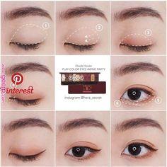 Pin by Maliko on ✿Makeup✿ in 2019 Pin by Maliko on ✿Makeup✿ in - Eye Makeup Natural - Makeup Korean Beauty Tips, Korean Makeup Tips, Korean Makeup Look, Asian Eye Makeup, Korean Makeup Tutorial Natural, Makeup Trends, Cute Makeup, Makeup Looks, Asian Makeup Tutorials