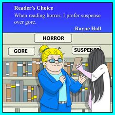 Reading horror. Rayne Hall about the pleasures and secrets of reading books.