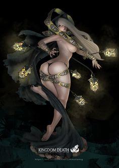 Kingdom Death-Twilight Witch by lokmanlam.deviantart.com on @deviantART