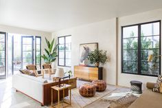 Leigh Herzig's refined rustic hollywood home | via coco+kelley