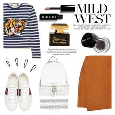 """""""tiger"""" by raniaghifaraa ❤ liked on Polyvore featuring MSGM, Gucci, MICHAEL Michael Kors, Old Navy, Bobbi Brown Cosmetics and Dolce&Gabbana"""