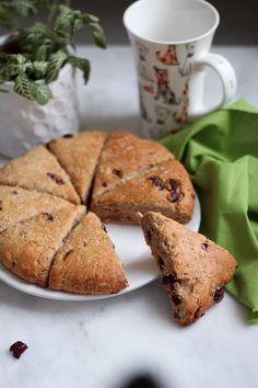 Scones coco cranberry et peanut butter – du bio dans mon bento Scones, Brunch, Bento, Peanut Butter, Muffin, Bread, Breakfast, Cake, Desserts